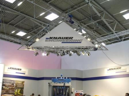 Knauer Engineering Bauma 2010 Messestand